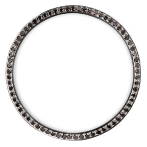 black diamonds bezel